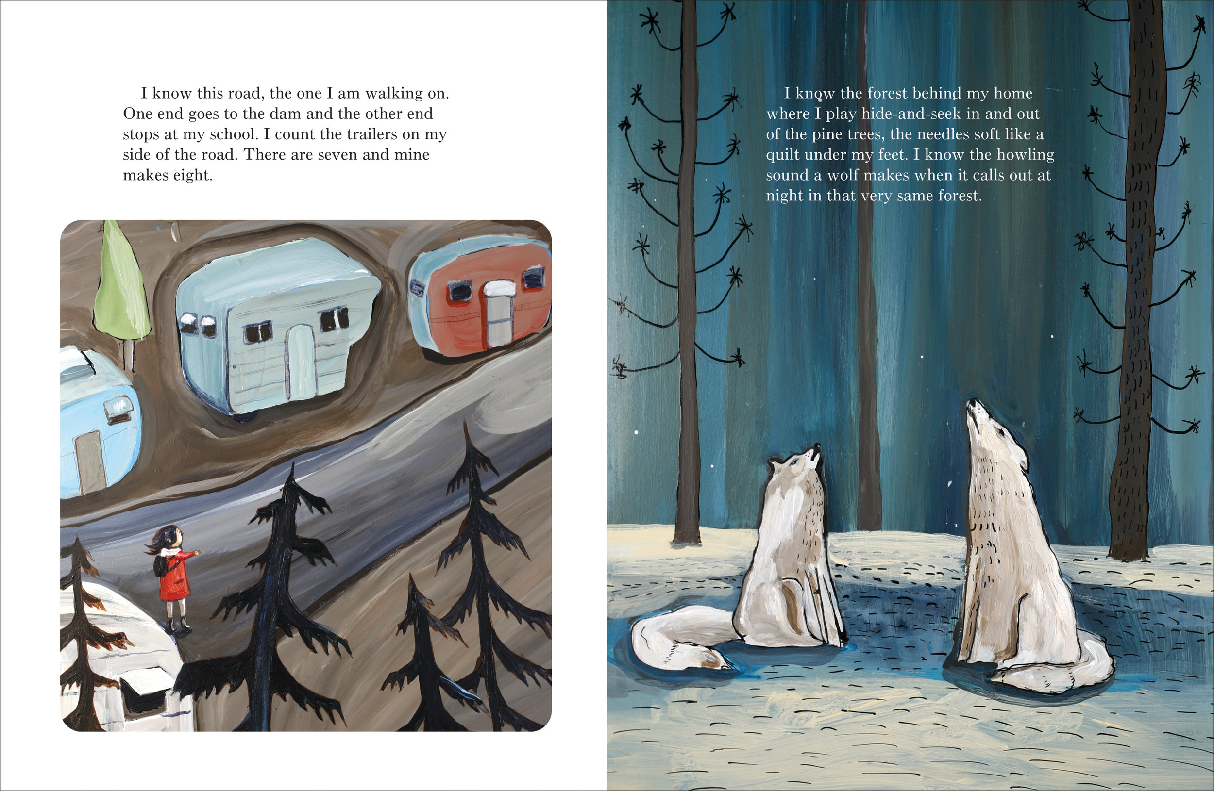 I Know Here Written by Laurel Croza, Illustrated by Matt James