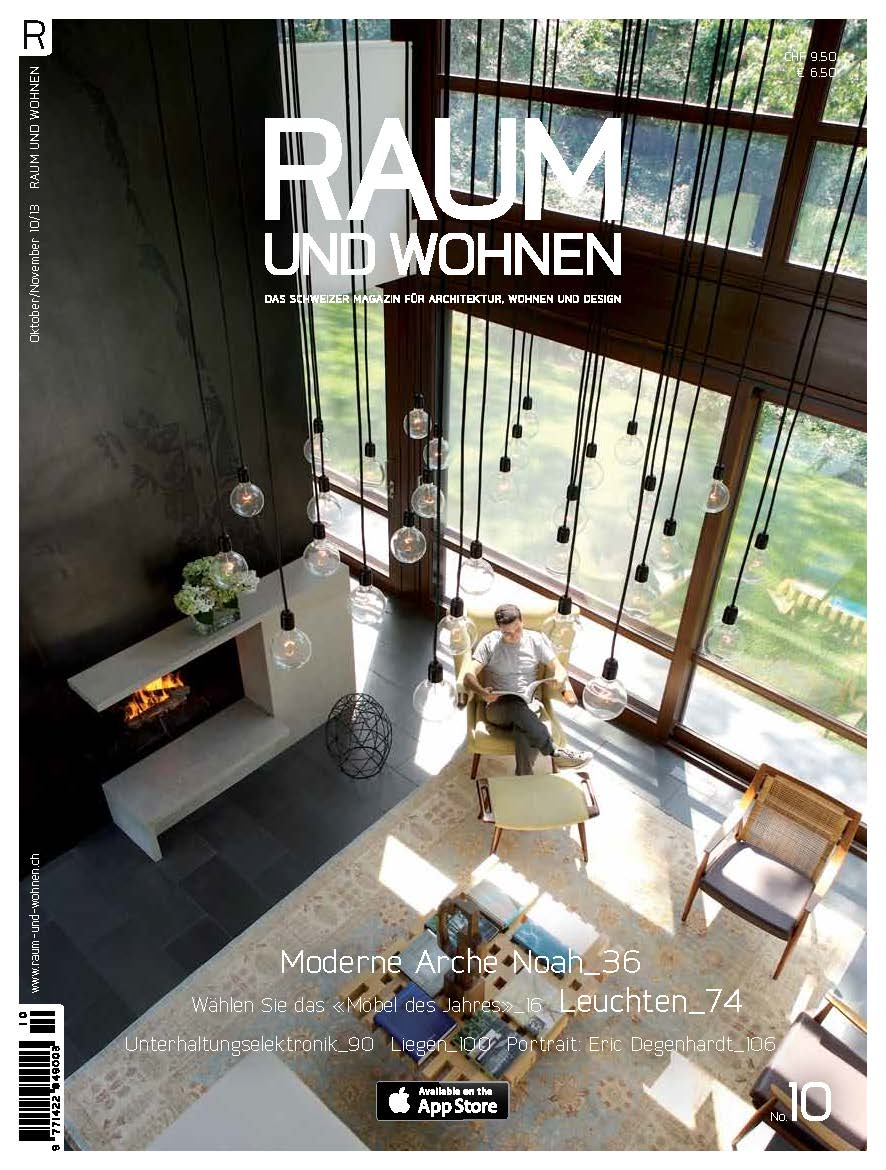 North Haven House was featured in the October issue of Raum und Wohnen. See the 12 page spread here.