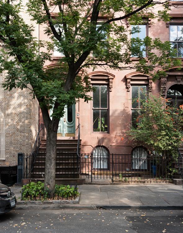 FT GREENE BROWNSTONE  Brooklyn, New York, 2012