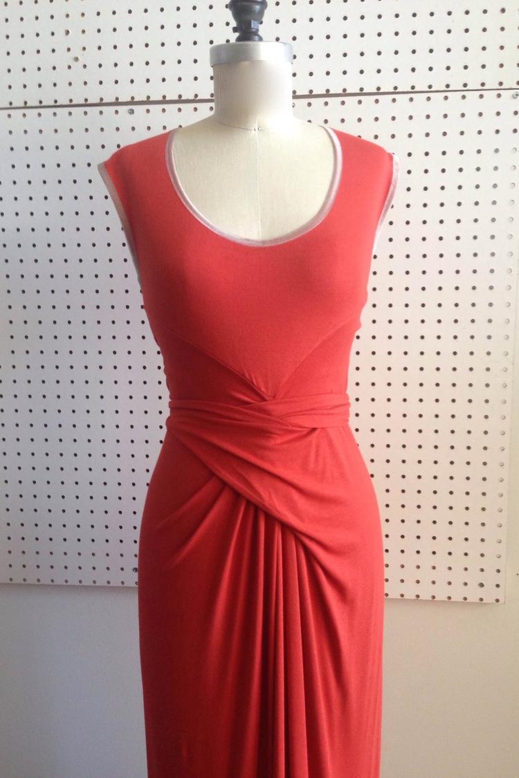 Gallery Wrap Dress