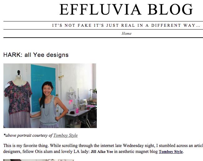 Effluvia Blog