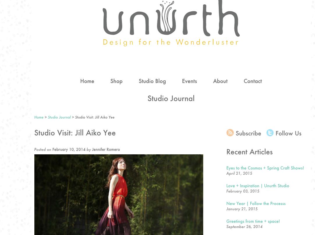 Unurth Blog