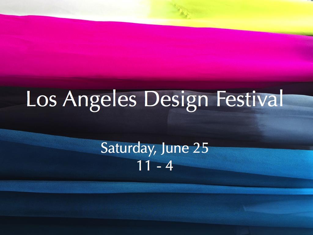 Los Angeles Design Festival 2016