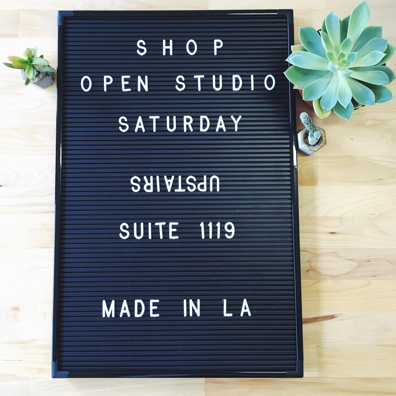 Jill Aiko Yee Shop Open Studio