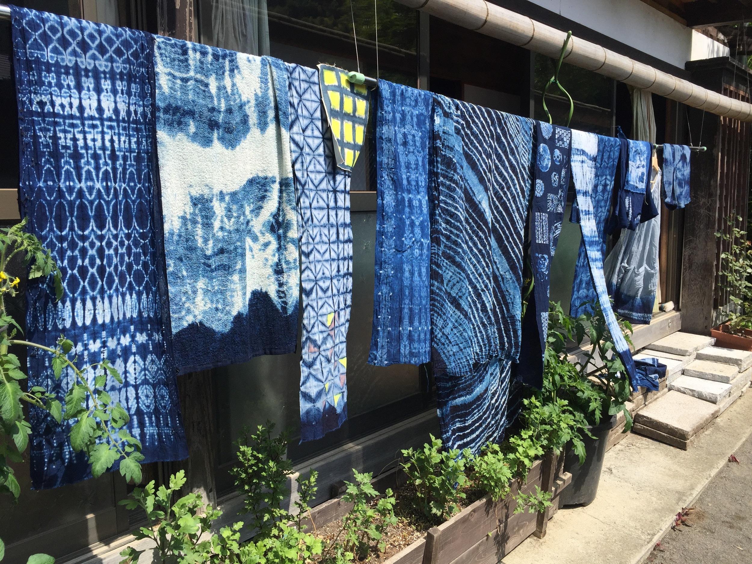 Japanese Textile Workshops Fujino Indigo