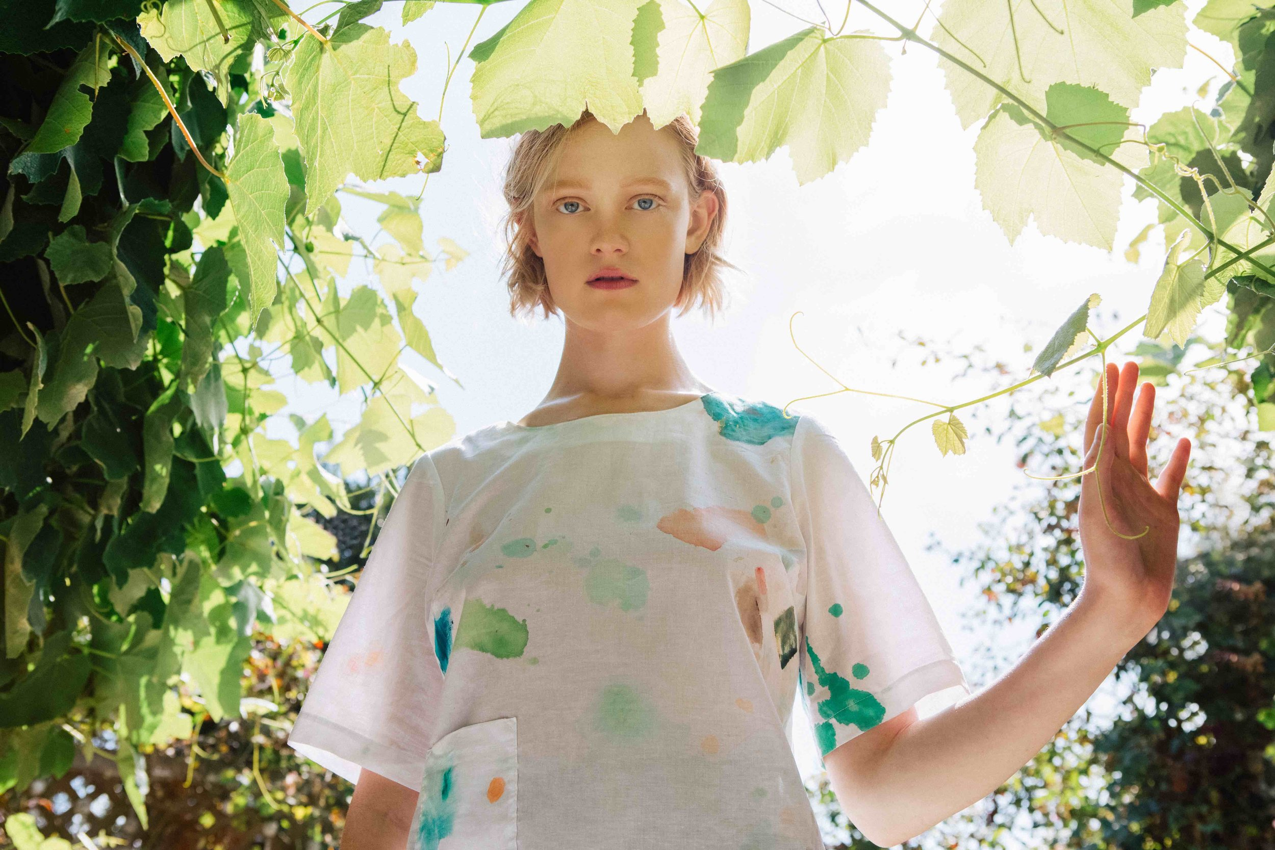See the full photoshoot of the Painter's blouse  ,  photo by Joy Newell