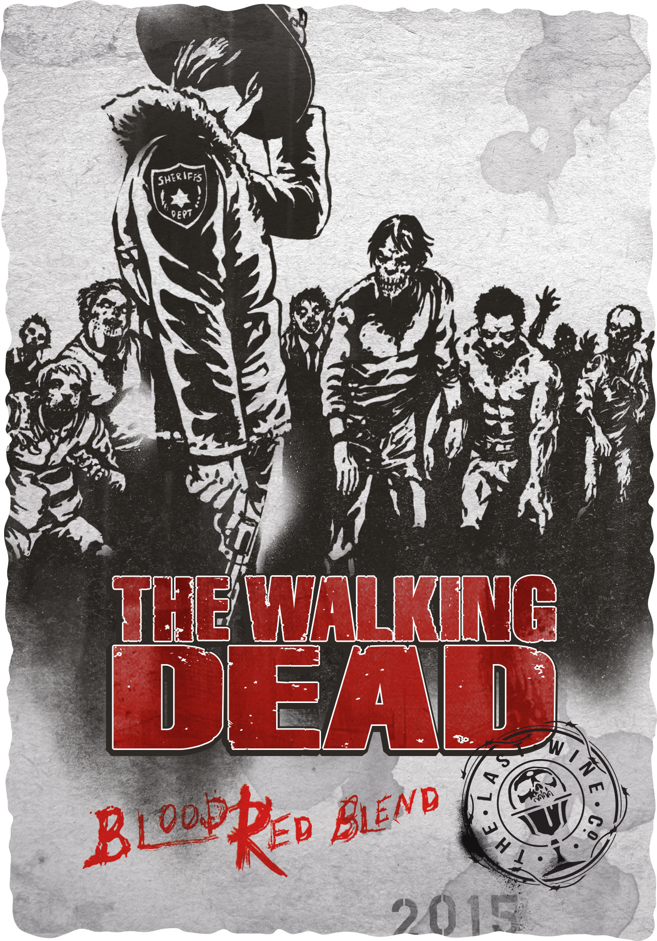 2015 The Walking Dead Blood Red Blend front label.jpg