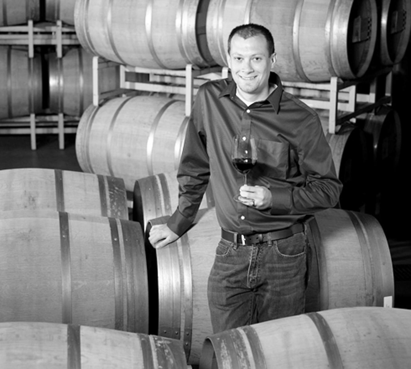 Justin Seidenfeld, director of winemaking