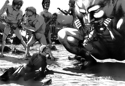Attack on Titan nails the horror of constant death.