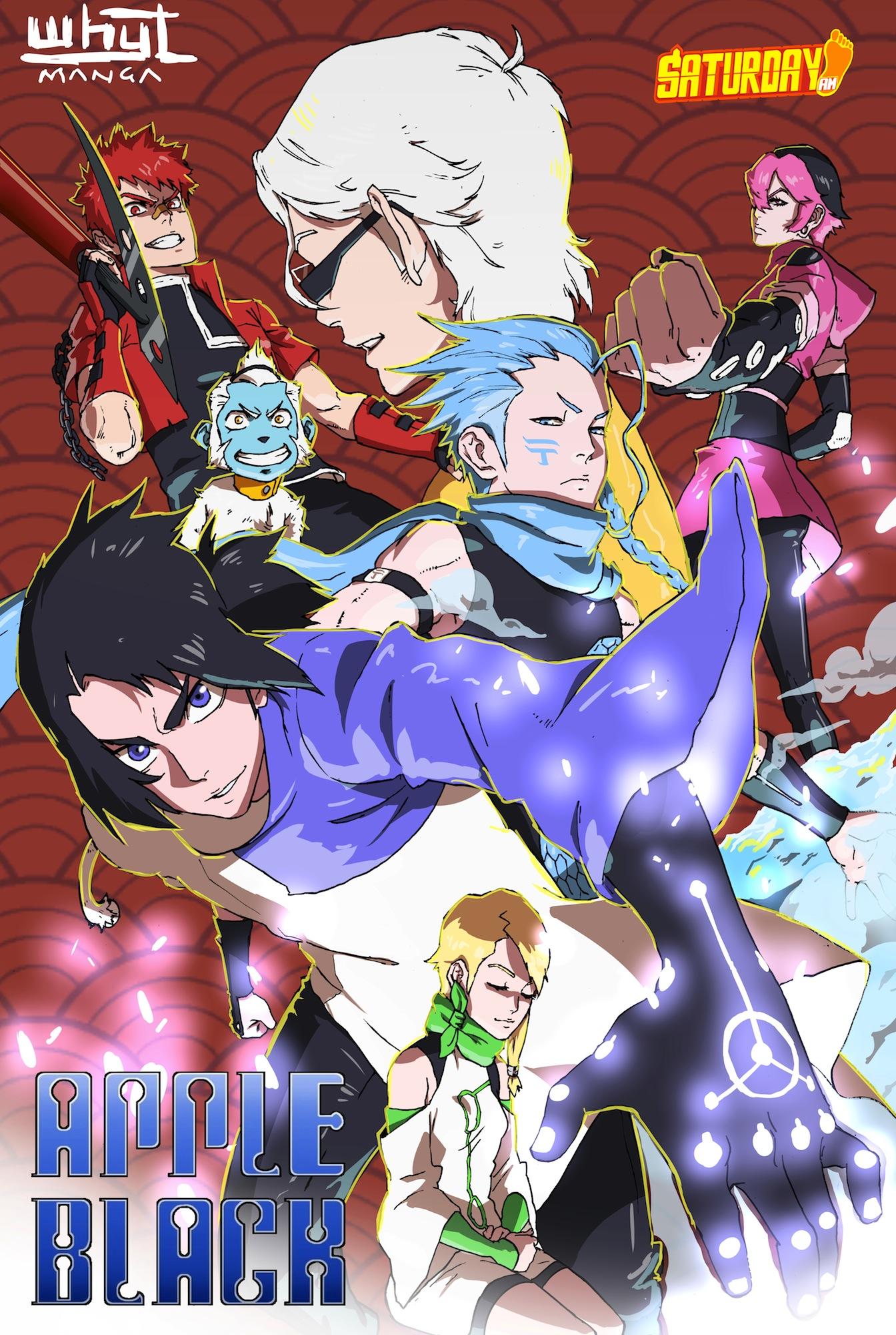 Apple Black Comic   Manga Promotion