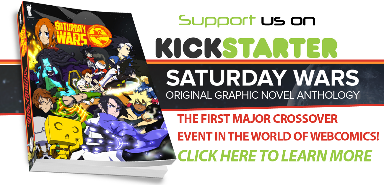 JOIN THE KICKSTARTER TODAY --- BOOK, T-SHIRTS and OTHER ITEMS AVAILABLE IN 2015!