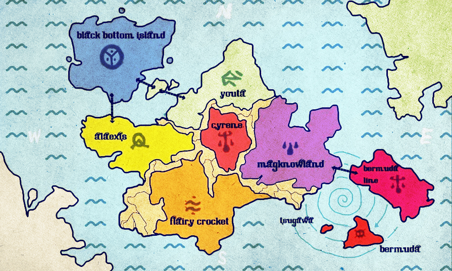 Sacred Map Of Eden.