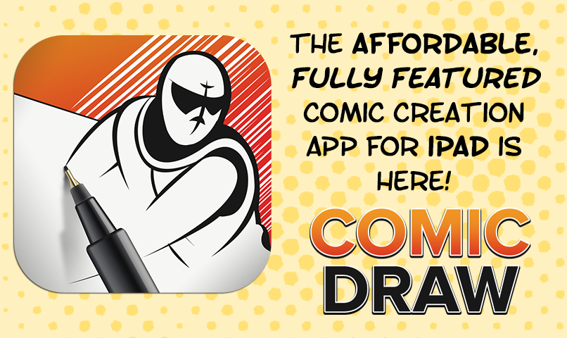 Learn about the software that Alex Ogle uses called COMIC DRAW by clicking the link above.