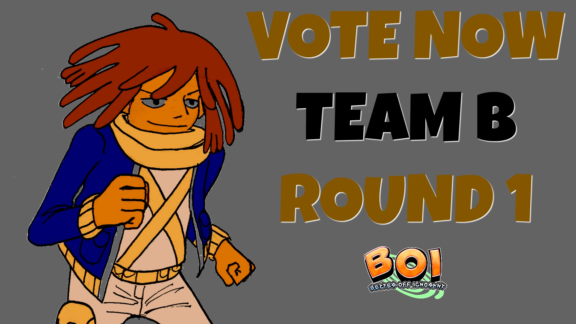 CLICK THE IMAGE TO VOTE FOR TEAM B ROUND 1 MATCHUPS --- scroll down for more teams.