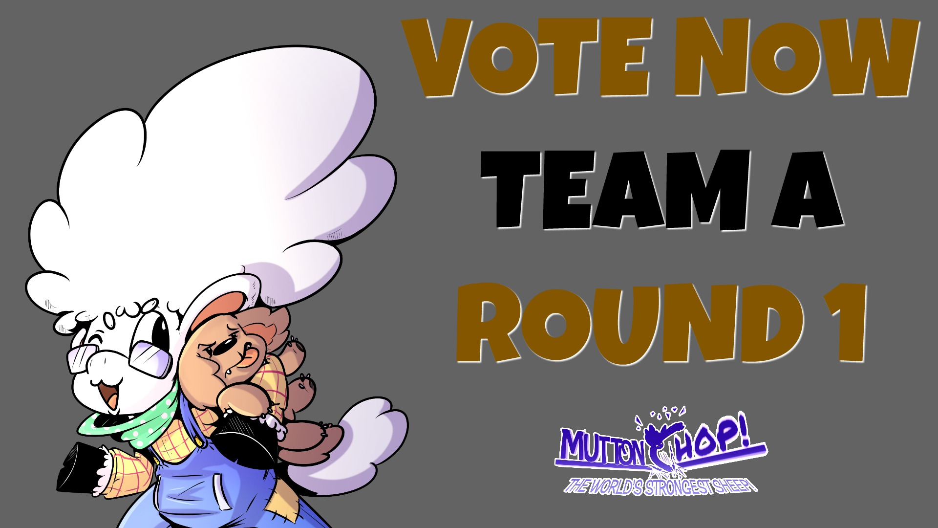 CLICK THE IMAGE TO VOTE FOR TEAM A ROUND 1 MATCHUPS -- scroll back UP for other teams.