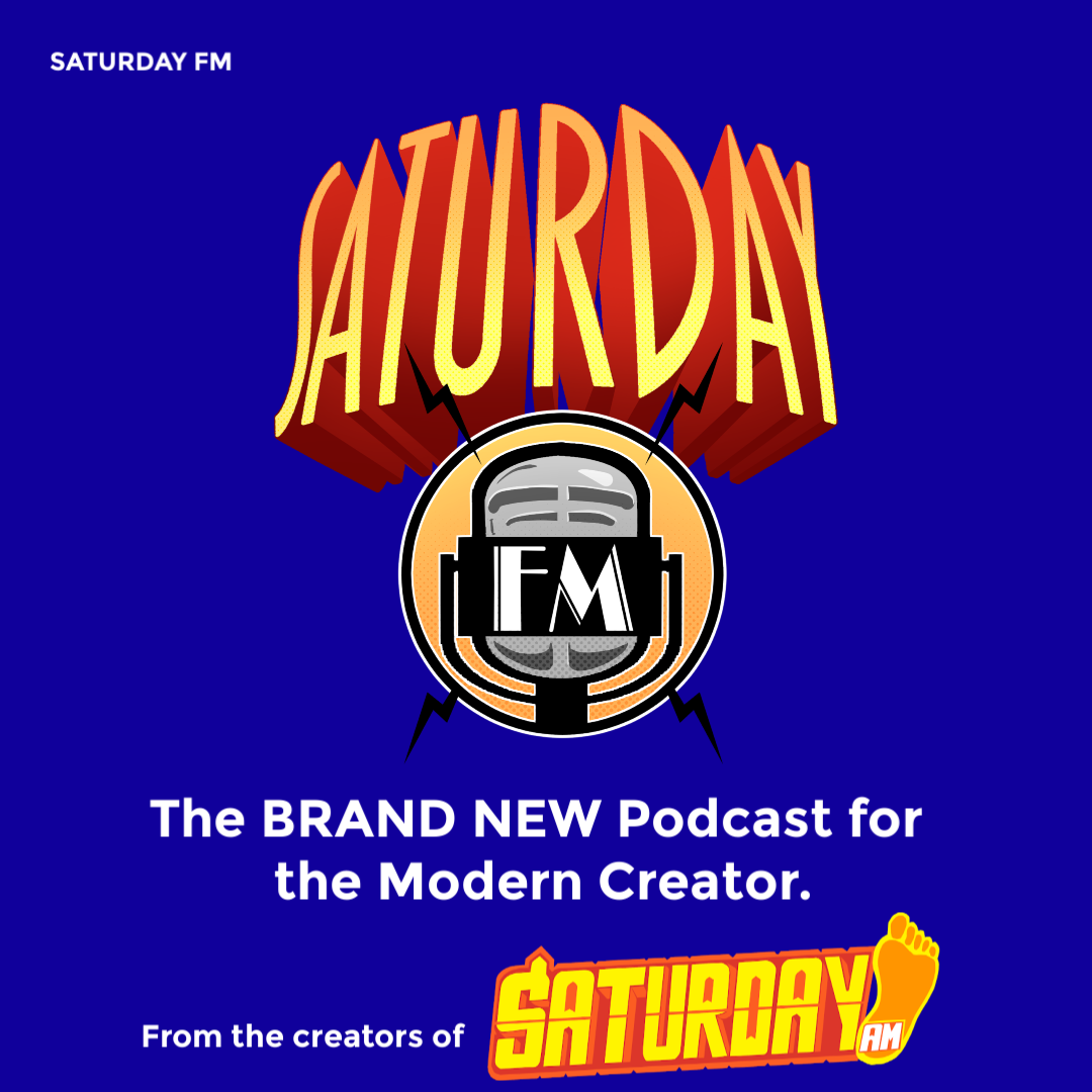 Our Brand-New PODCAST - Saturday FM brings in-depth conversation regarding the creative process. Whether it's discussions with artists in cinema, videogames, comics, and/or music or discussions of major creative works - Saturday FM is a sober take on the world of up and coming dreamers from around the world.