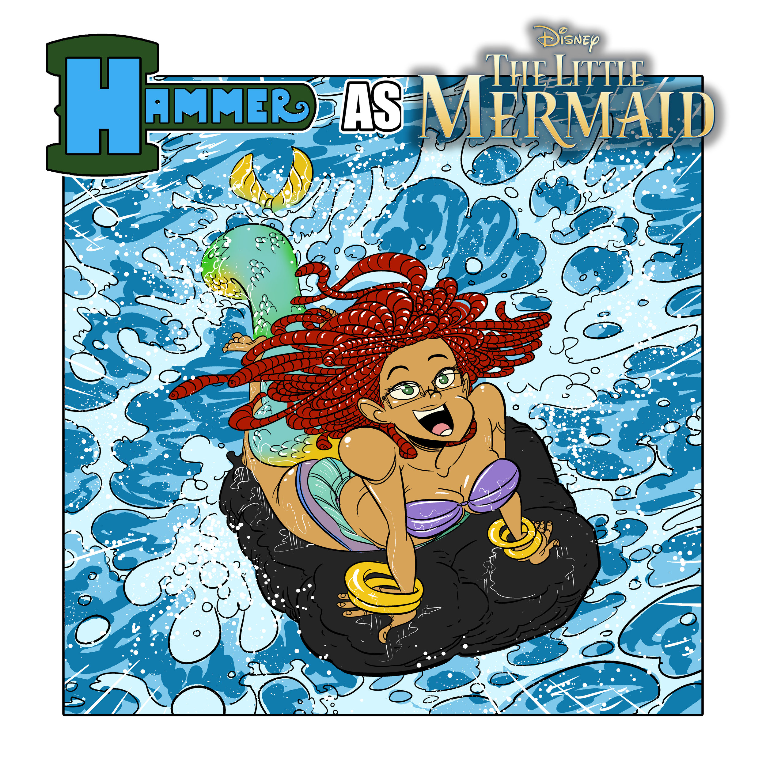 HAMMER AS THE LITTLE MERMAID.jpg