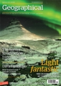 Essential Gear article in the September, 2014 issue of The Geographical Magazine published by the Royal Geographical Society in the UK