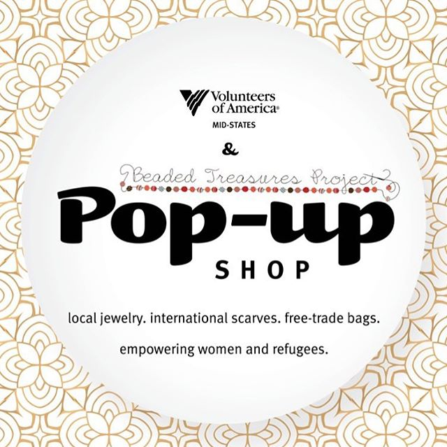 BTP and @voamid are partnering to bring a series of pop-up shops to Louisville on Oct 5, Nov 2, and Dec 7 from 4-9pm at 570 S 4th Street. Come shop beautiful handmade pieces!