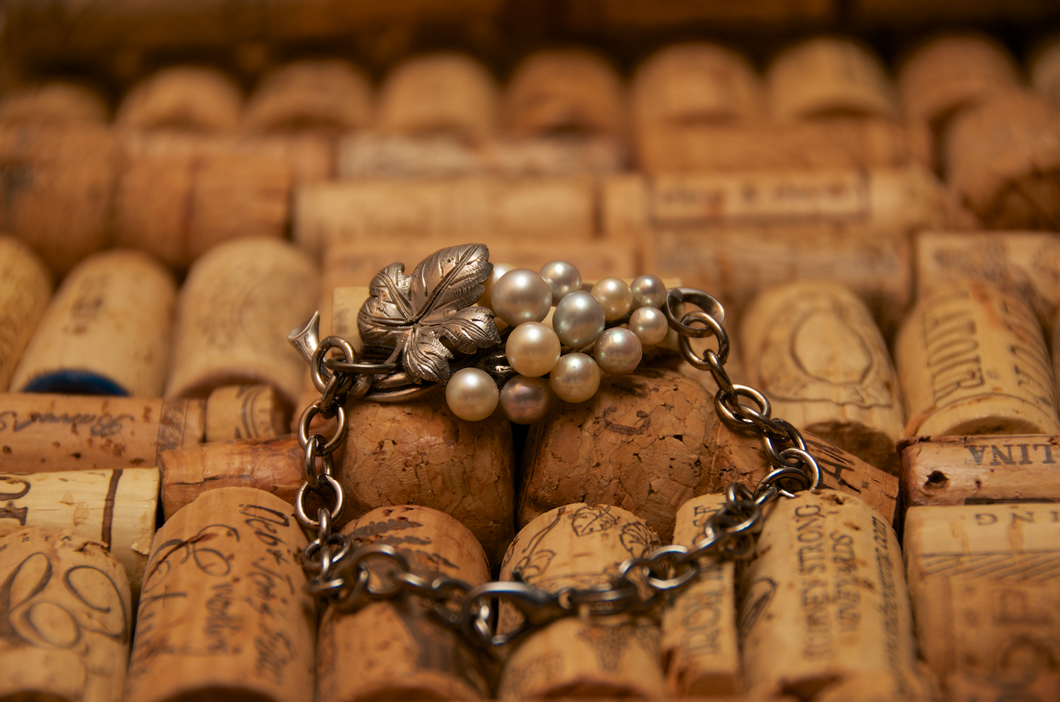 A repeat client returned with a beautiful pin that she'd inherited from her grandmother-in-law. Vintage by Cathy restored it and created this exquisite bracelet for her.