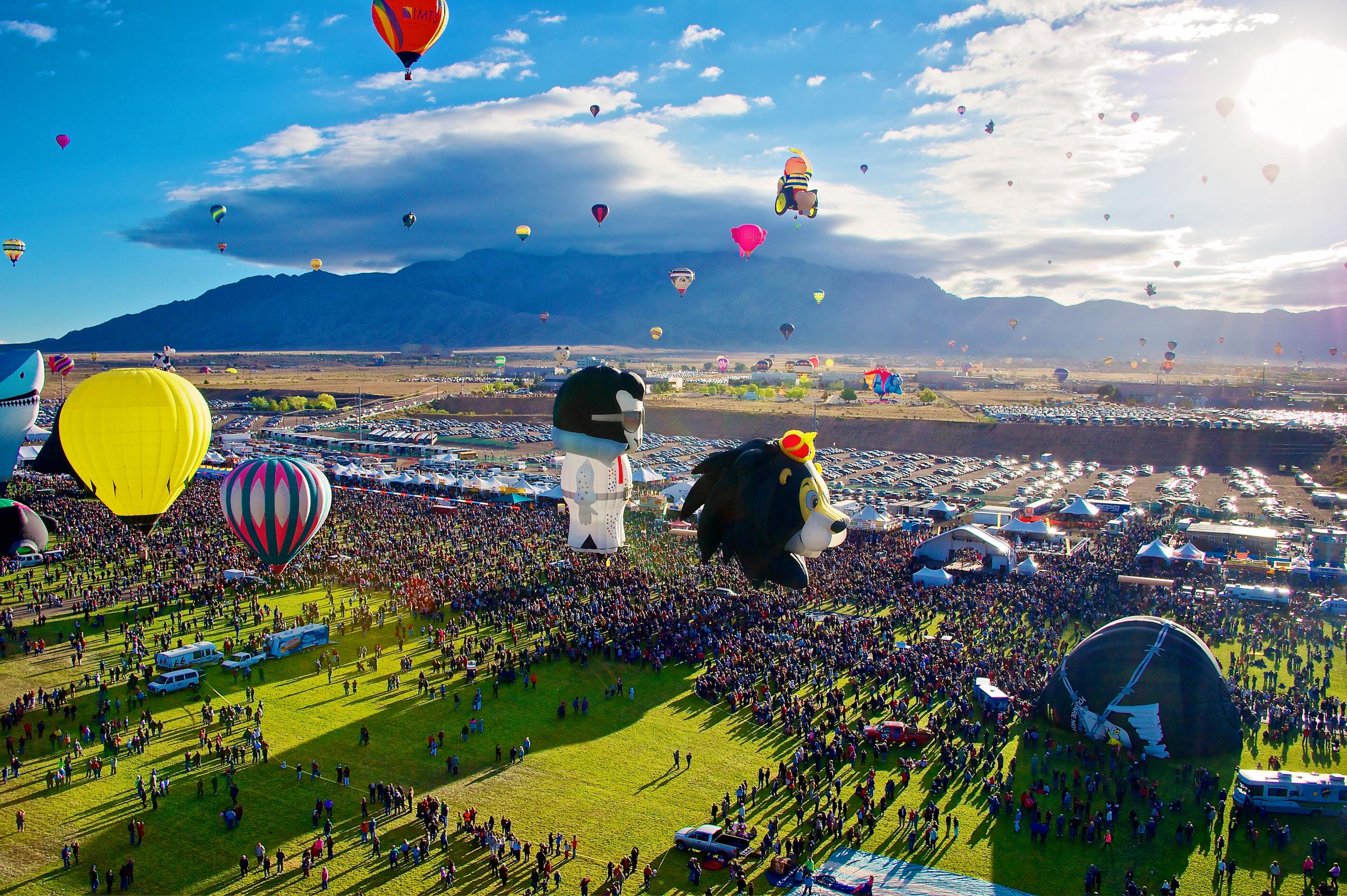 Balloon Fiesta Flight