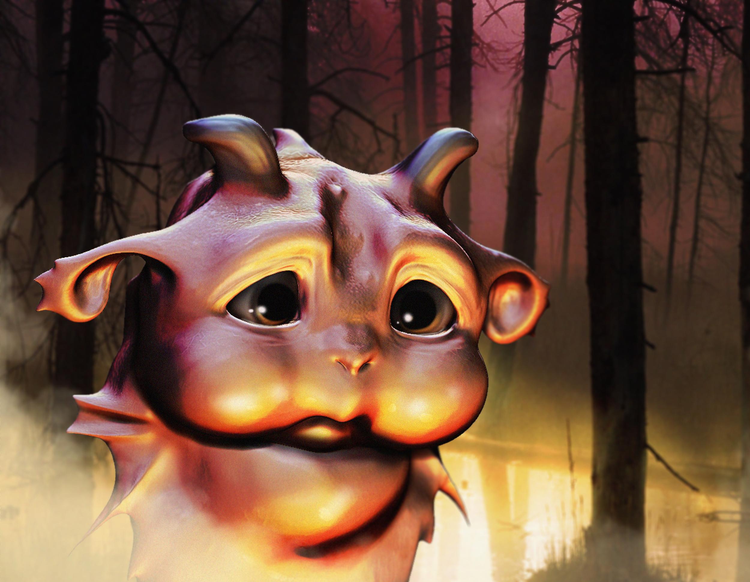Baby Swamp Monster