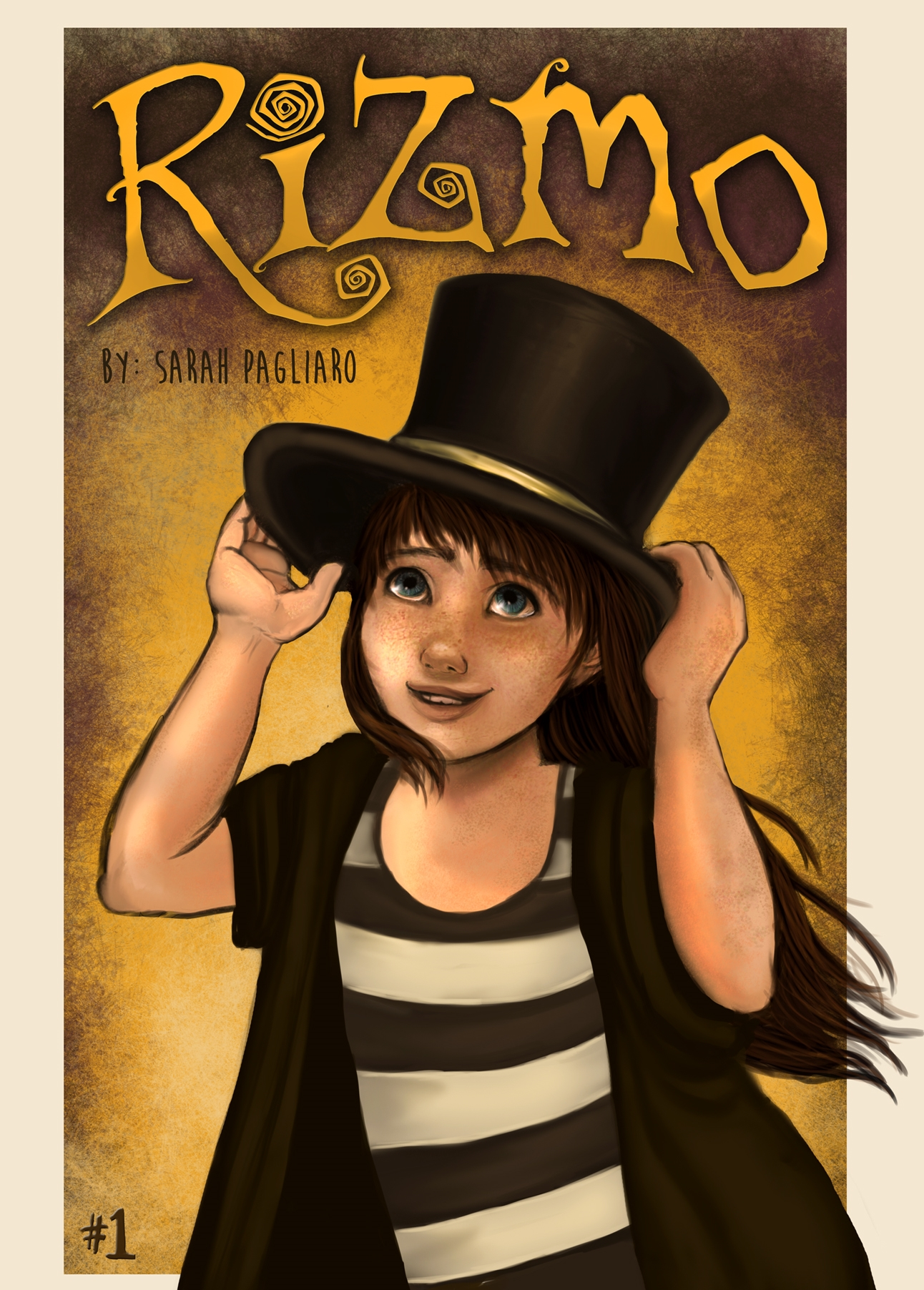 "Rizmo Cover ""Issue #1"""
