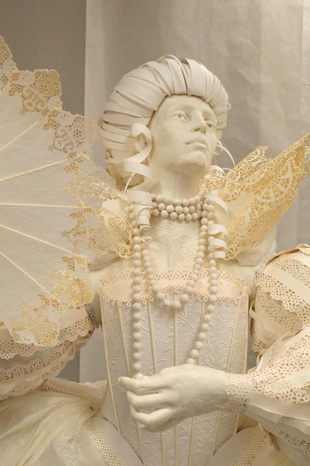 %100 Paper Dress/Mannequin