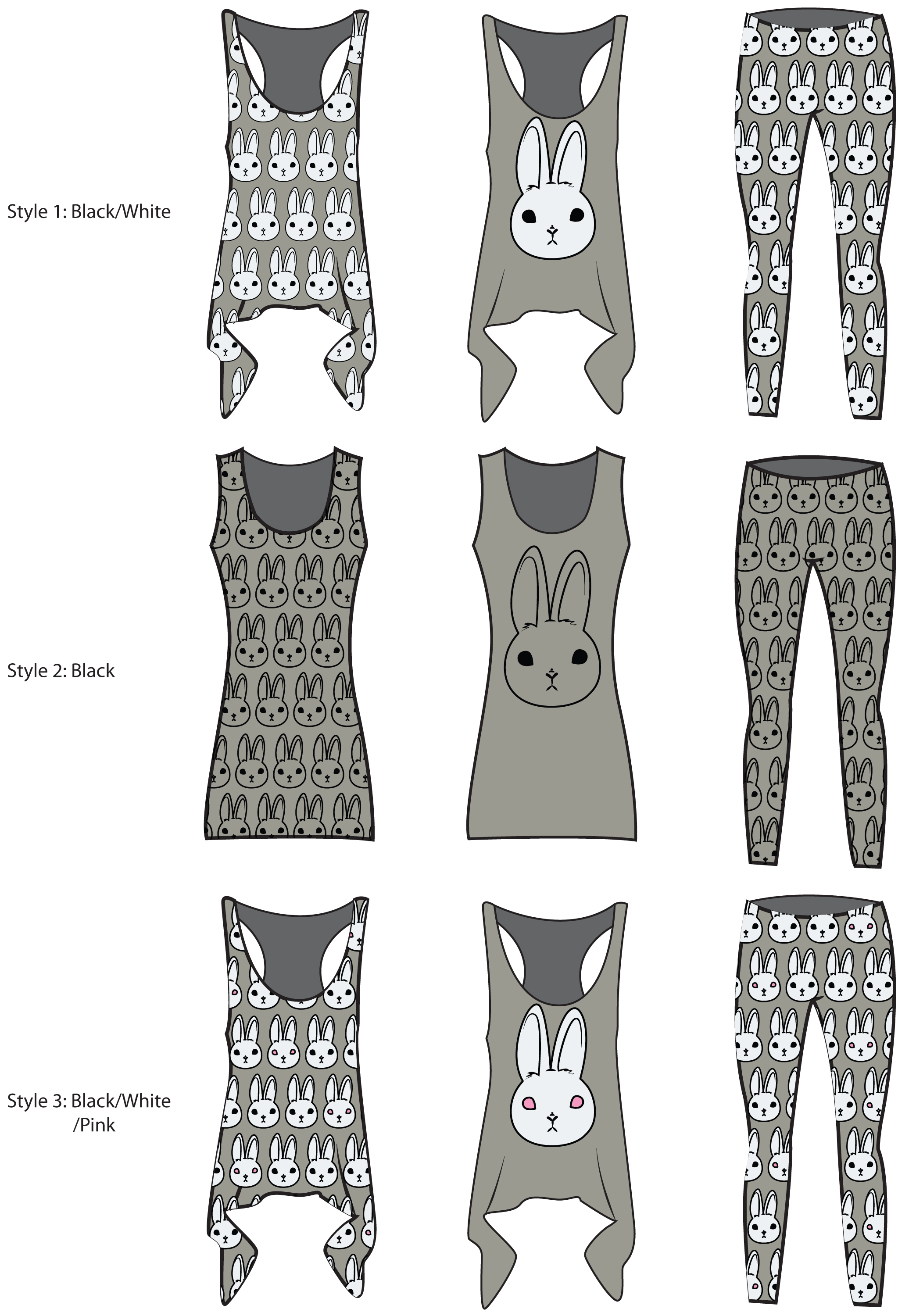 Vision Board: Bunny Apparel