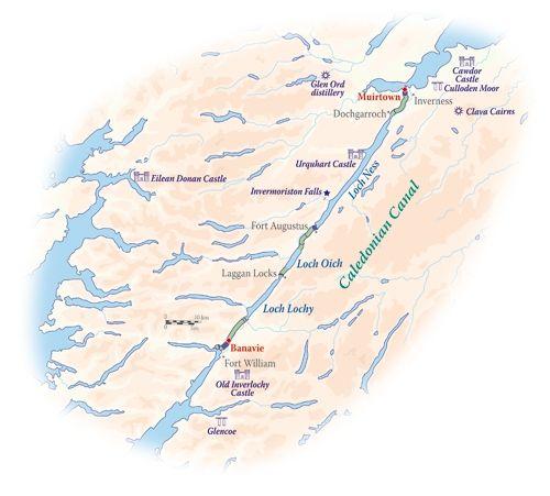 Scottish Highlander itinerary