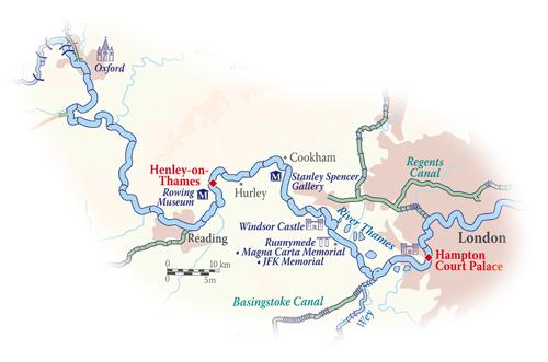 Magna Carta Itinerary