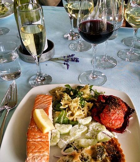 Dine around in Burgundy