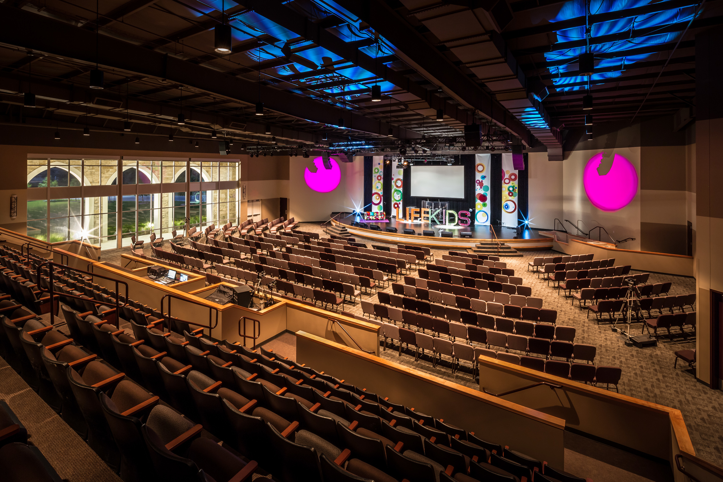 The auditorium at LifeAustin