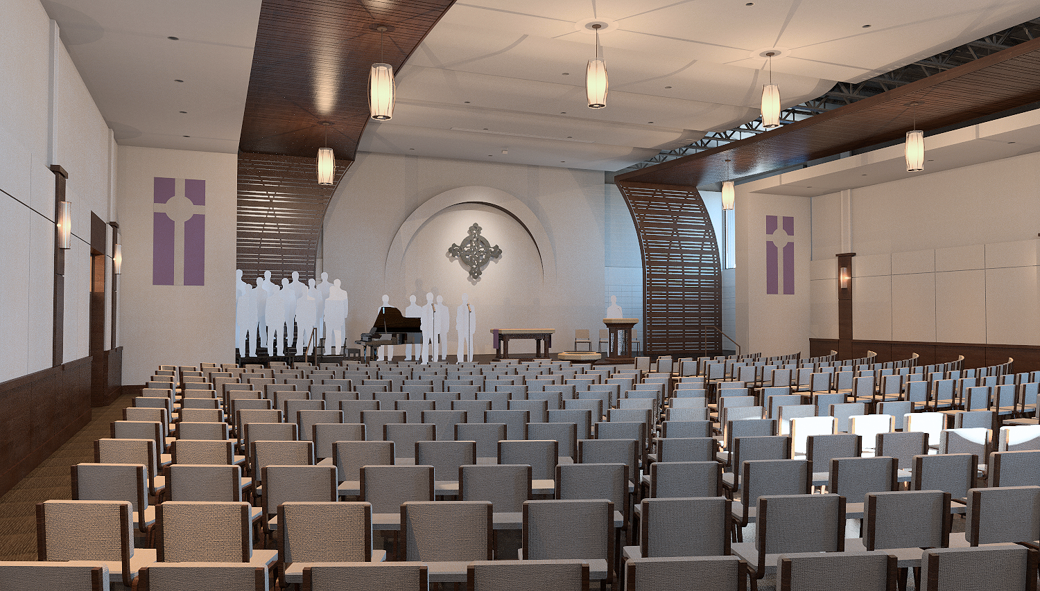 Finished Sanctuary Rendering