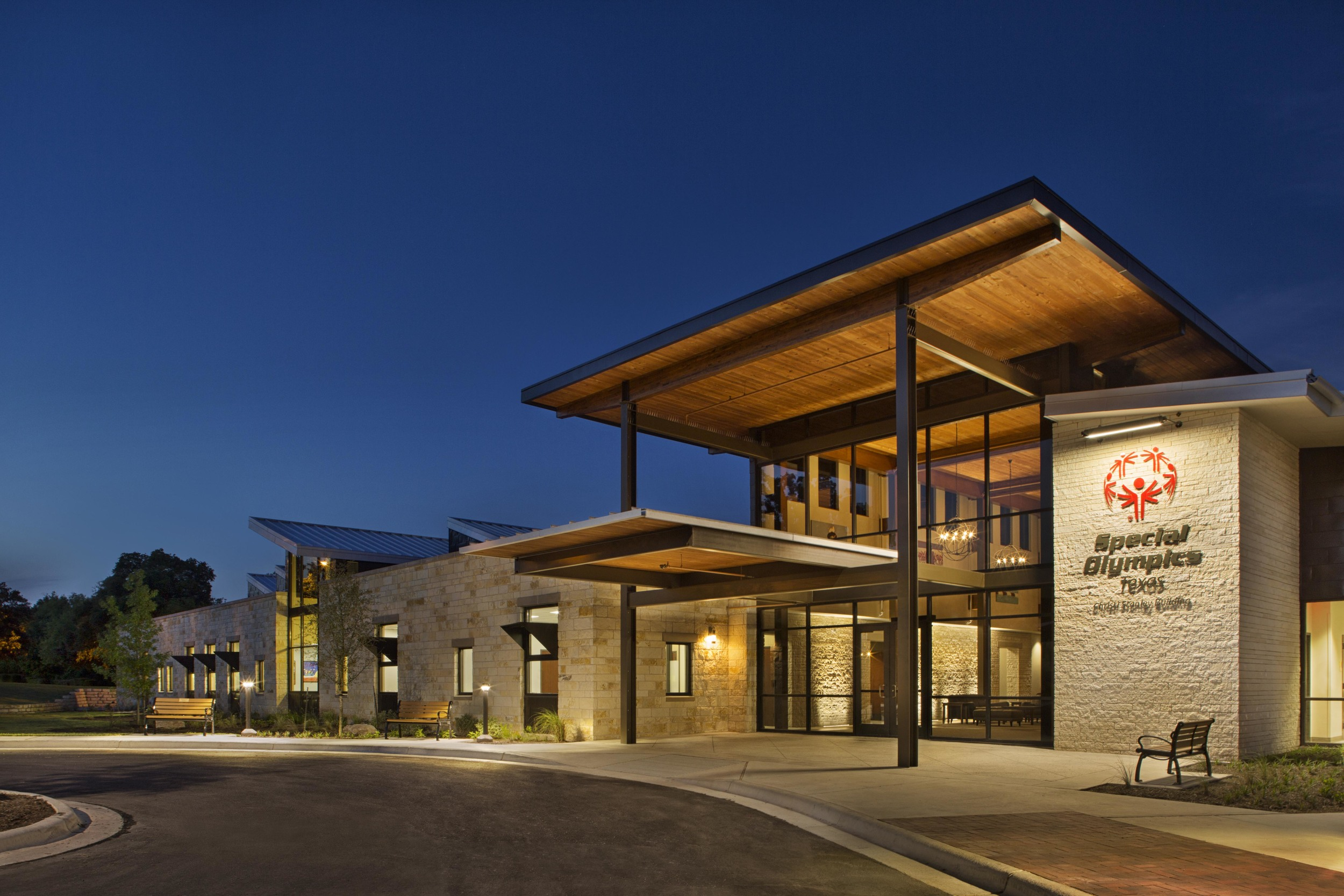 """It is my pleasure to recommend Jackson Galloway Associates Architects as an excellent, responsive group of design professionals....Their team showed skill in listening to us and gathering information while guiding our CEO and her team through the design process. The result is a building that represents our athletes and their many talents and a special place for Special Olympics families and employees to gather.  -Steve Hayes, Owner's Representative:"