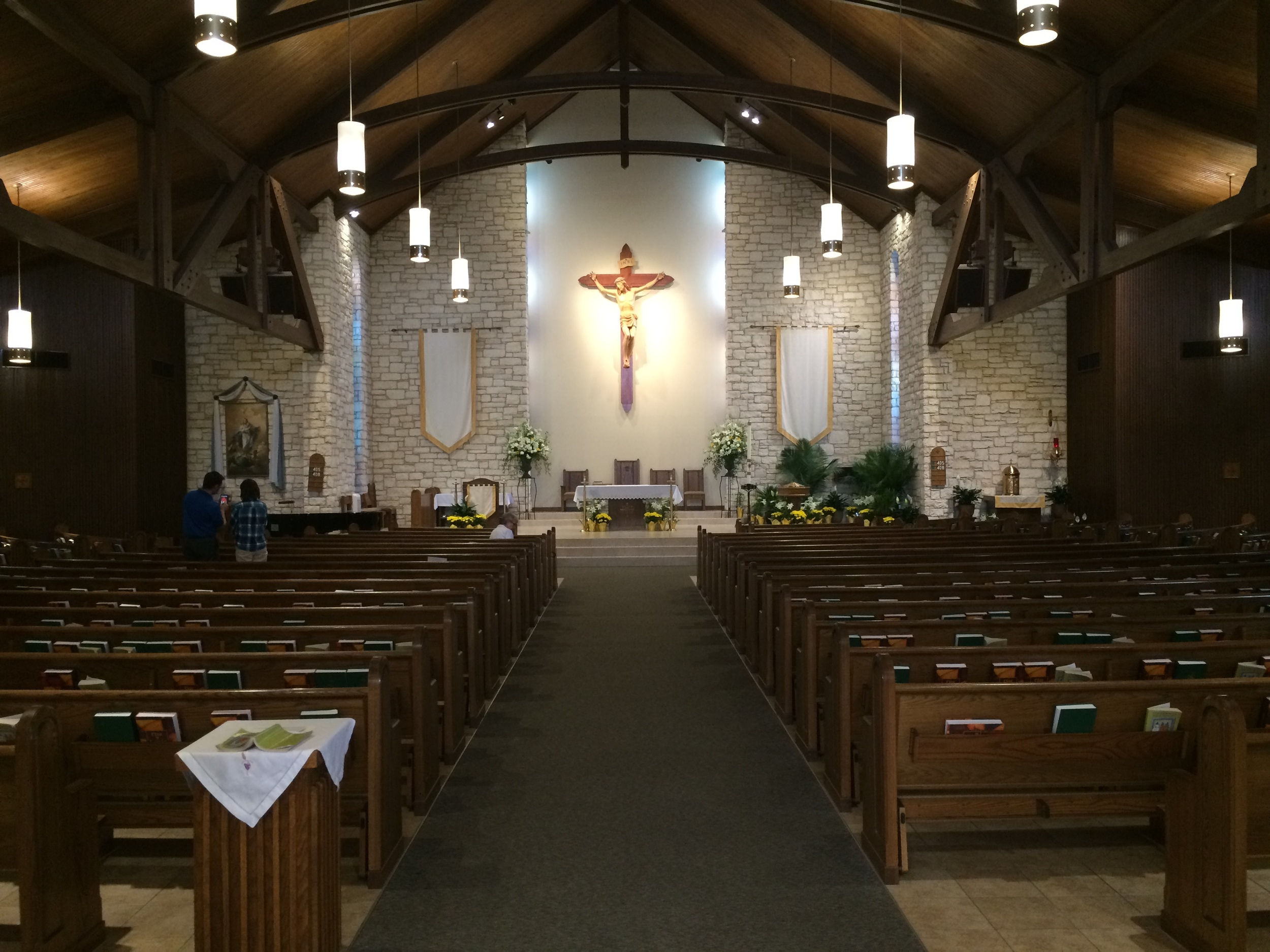 BEFORE: The interior of the church as it was in early 2015.