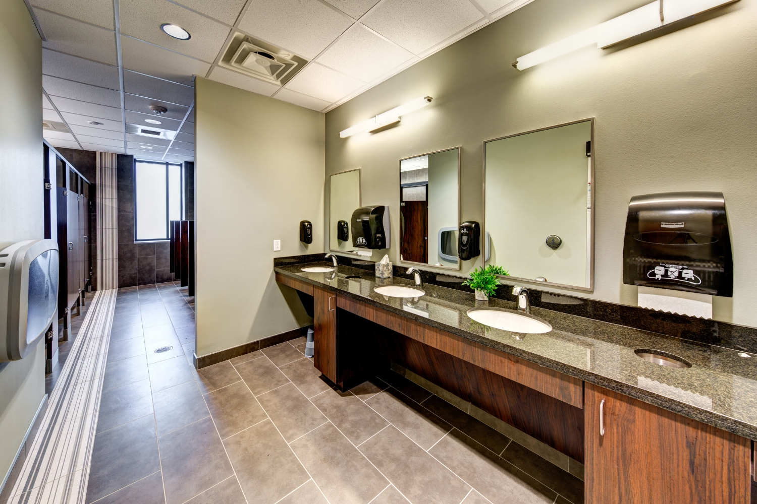 Men's Restroom   The most intimate of spaces should be equally as beautiful...