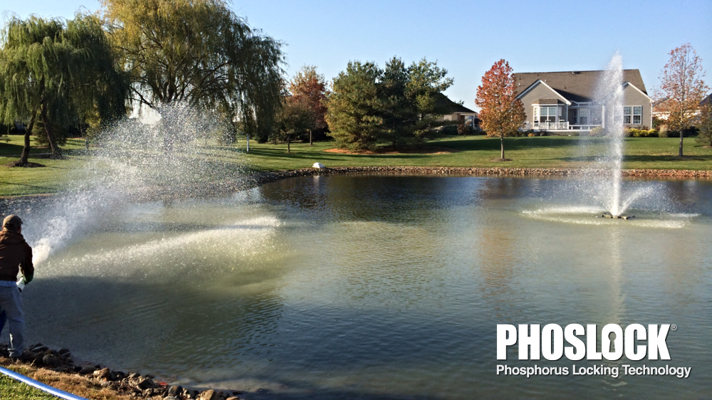 "Phoslock phosphorous locking technology is a ""go-to"" for maintaining golf course ponds."