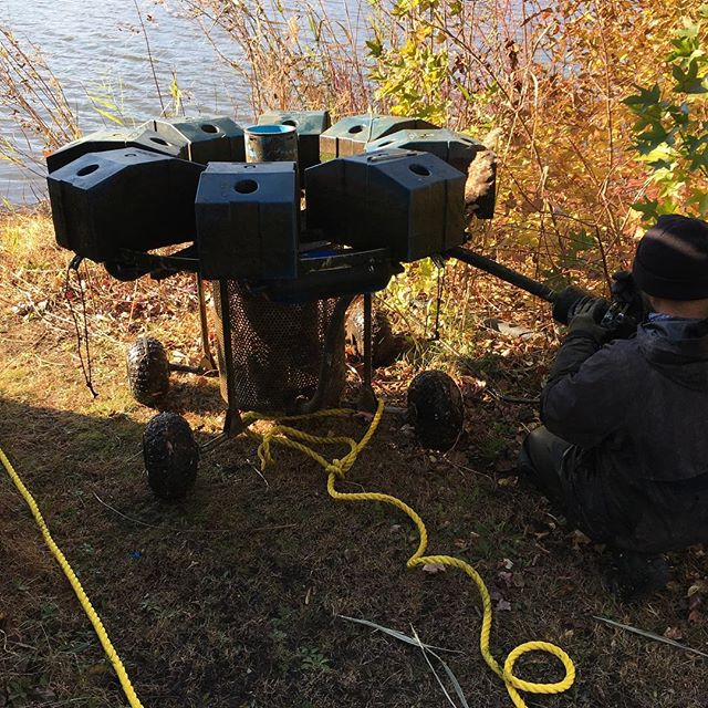 Winterizing a 10HP #aquamasterfountains Master unit