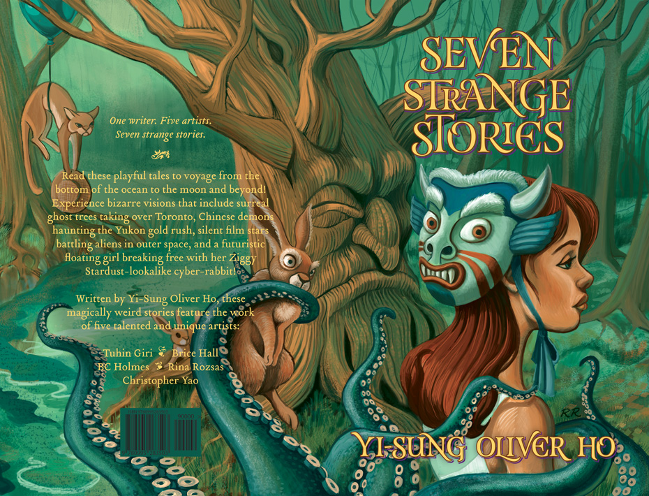 Seven Strange Stories cover art and text