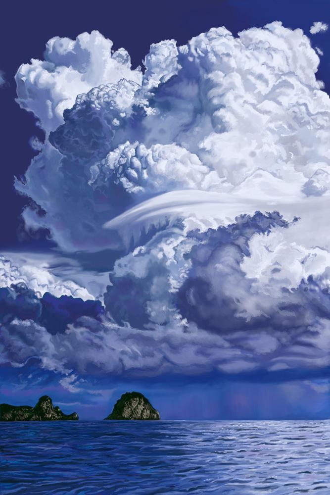 Cumulus Clouds Practice (Step 2)