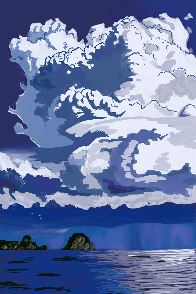 Cumulus Clouds Practice (Step 1)