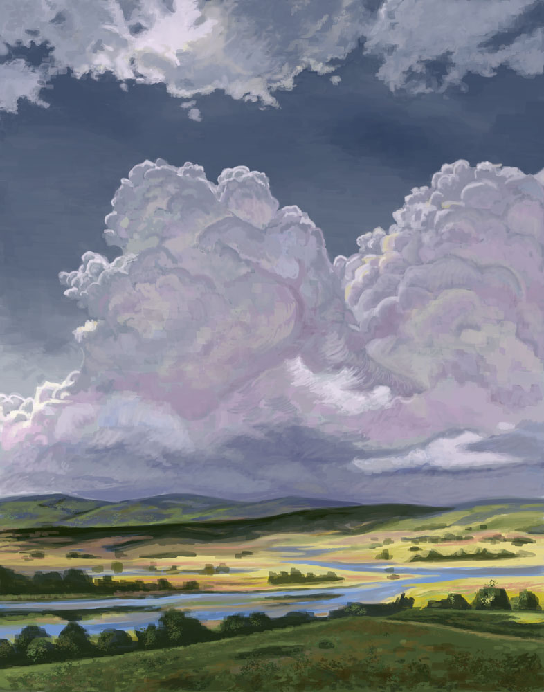 Cumulus Clouds Practice 2