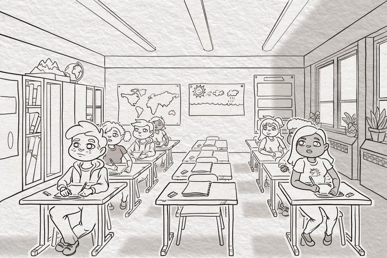 Emma - Classroom Scene