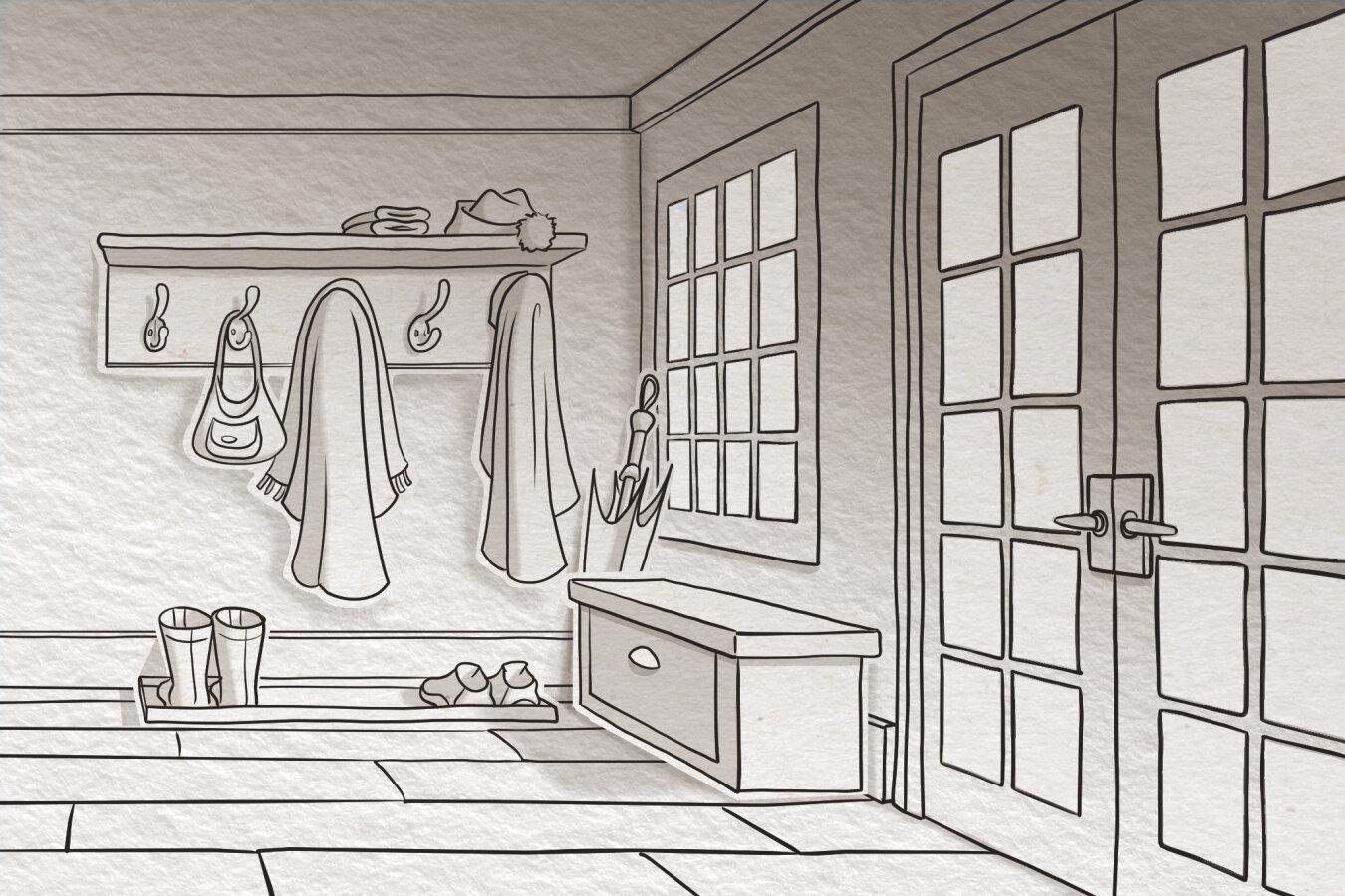 James - Hallway Scene