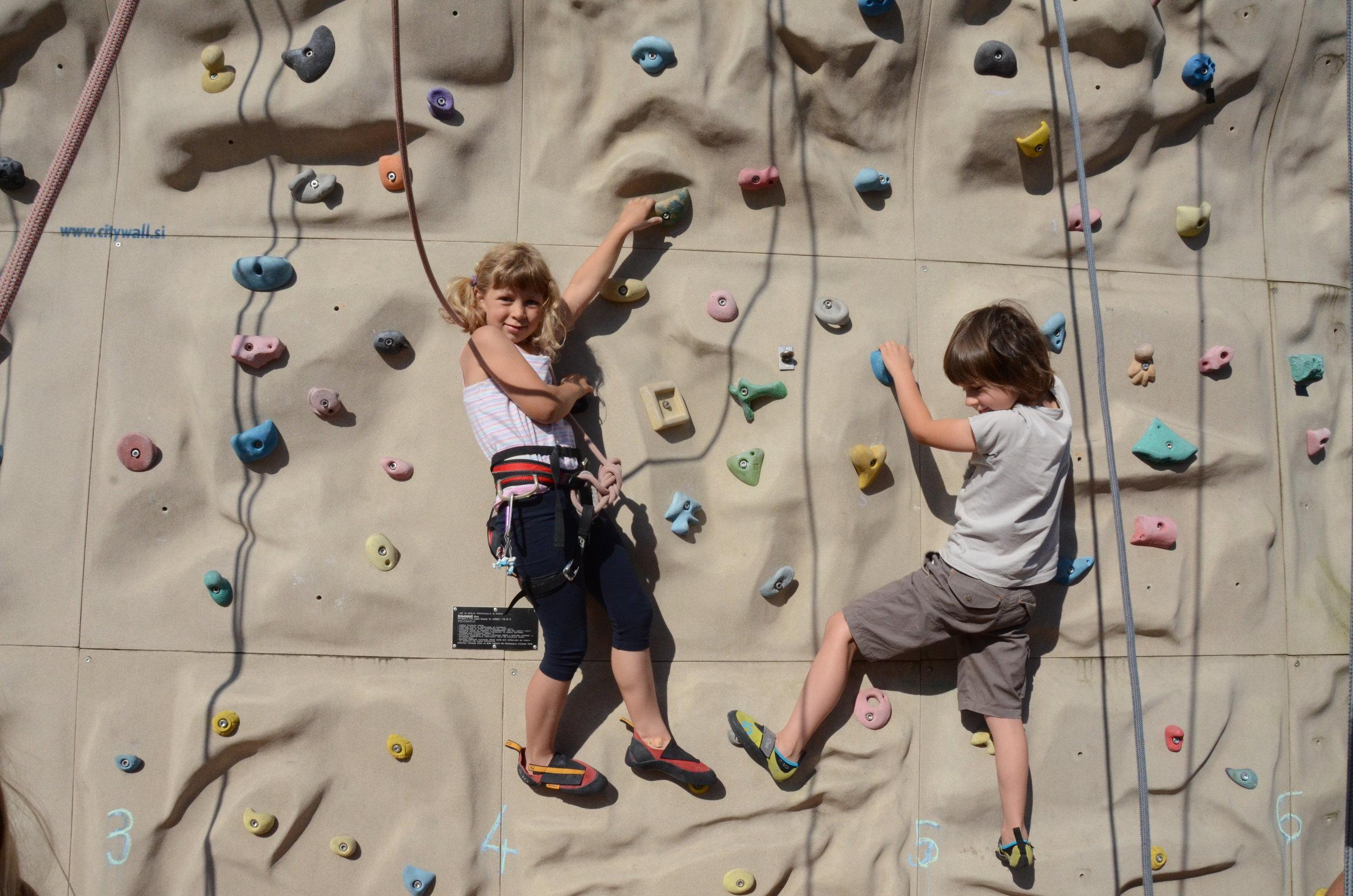 Počitniška plezalna šola Grif