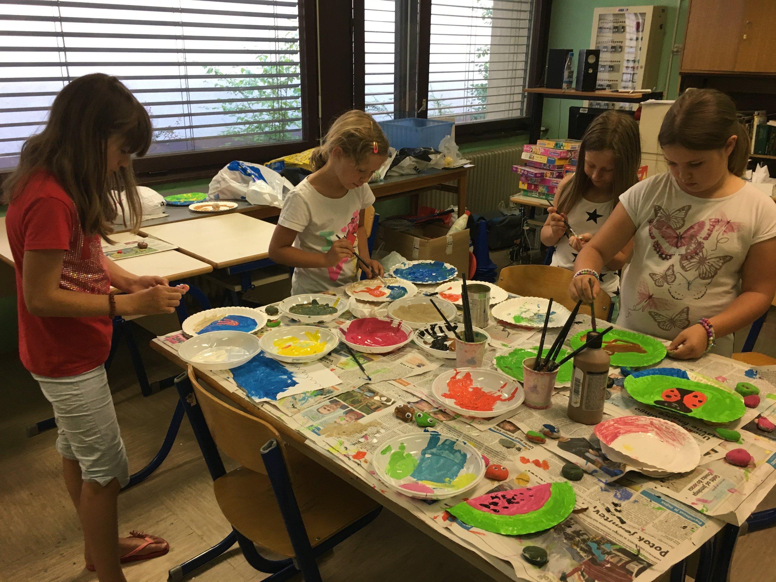 Počitniške delavnice za otroke Grif