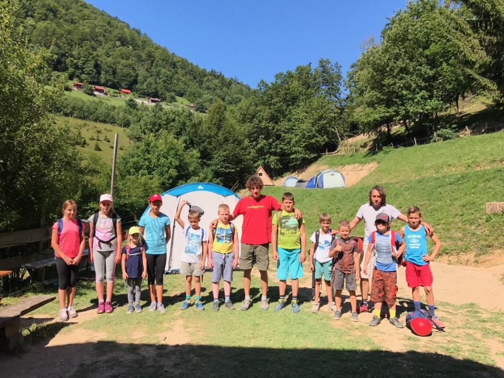 Poletni plezalni tabor za otroke Grif