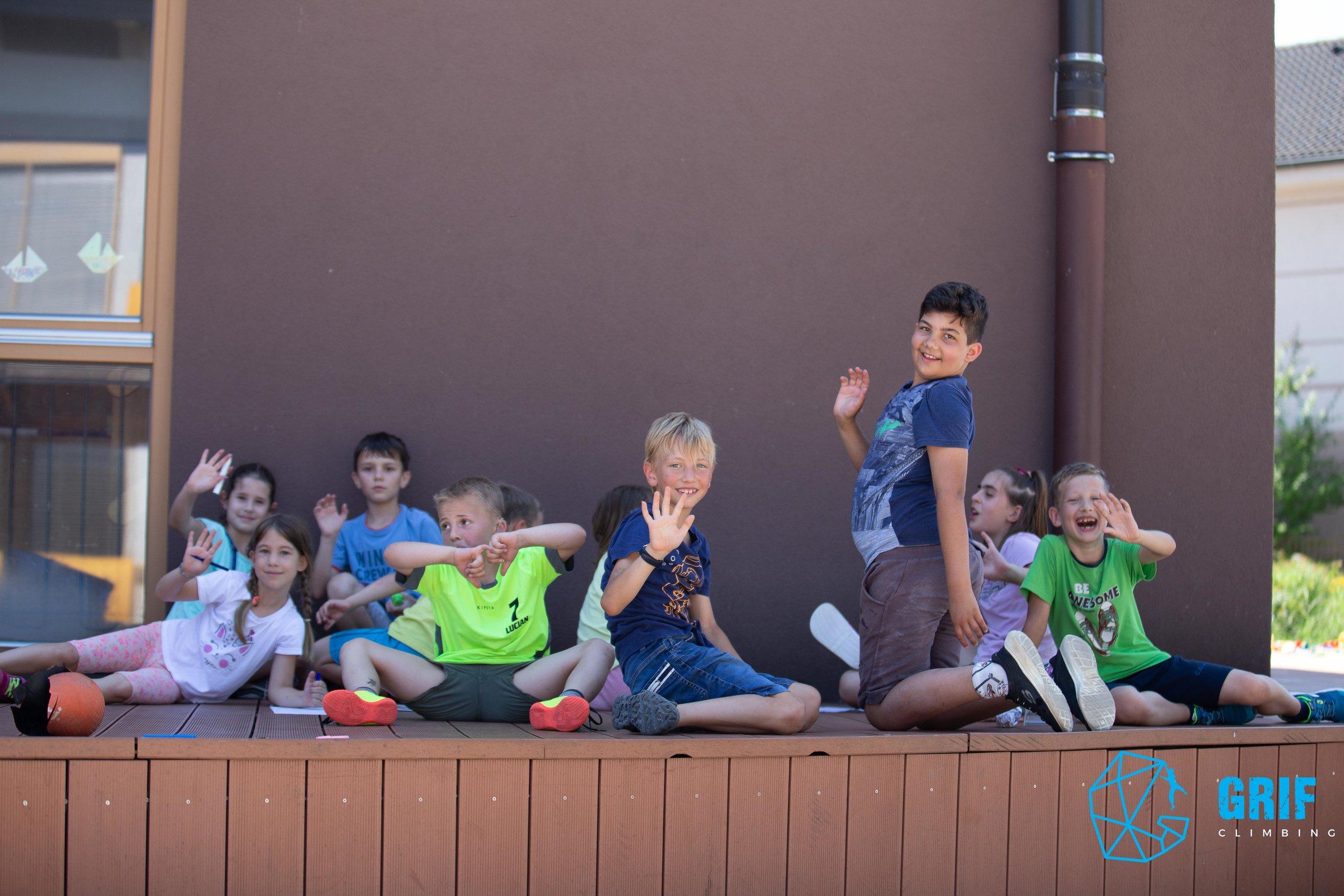 Aktivno počitniško varstvo za otroke Plezalno društvo Grif32.jpg