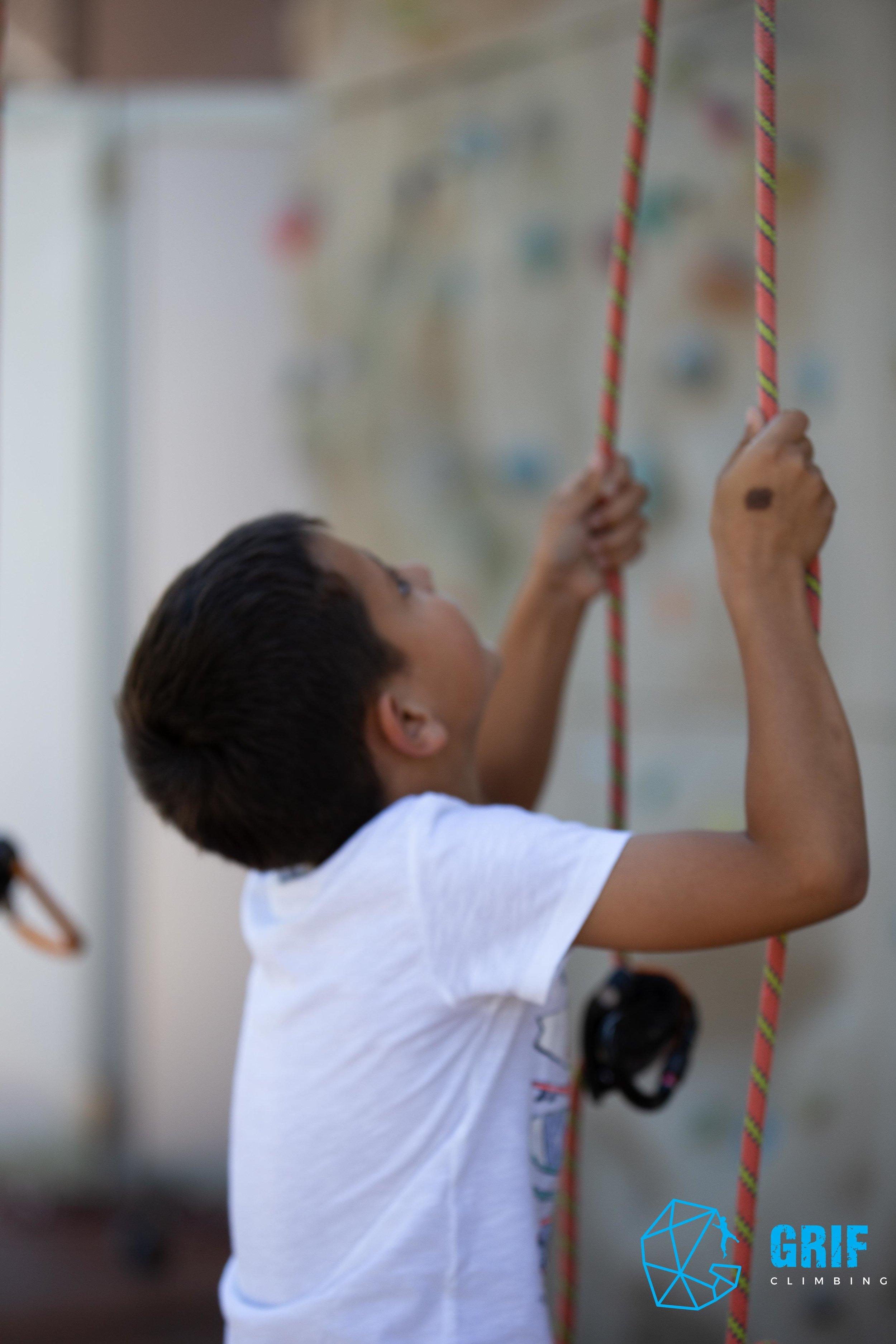 Aktivno počitniško varstvo za otroke Plezalno društvo Grif50.jpg